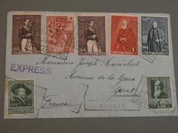 ENVELOPPE BELGE A GIVET ARDENNES. 1930 - Belgien