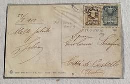Cartolina Illustrata Porta Della Rupe - Anno 1912 - San Marino
