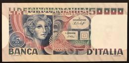 50000 LIRE Volto Di Donna 20 06 1977 Q.fds/fds LOTTO 1871 - 50000 Lire