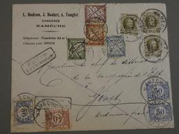 ENVELOPPE BELGE DE NAMECHE A GIVET ARDENNES. 1930. TIMBRES TAXE, A PAYER. - Belgien