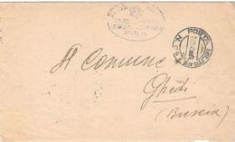1945 POSTA MILITARE/N. 64 C2 (24.11) Su Piego - 1900-44 Vittorio Emanuele III