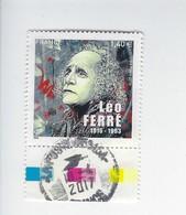 Personnalité Léo Ferré 5080 Oblitéré - Used Stamps