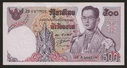 500 Baht Serie 11 Sign 55 Thailand 1975 UNC - Thailand