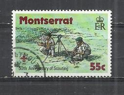 MONTSERRAT 1979 - SCOUTING - POSTALLY USED OBLITERE GESTEMPELT USADO - Montserrat