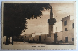 V 58009 Libia - Tripoli - Via Misran - Libia