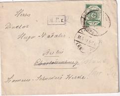 LETTONIE 1919 LETTRE DE LEEPAJA - Letonia
