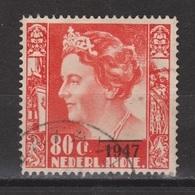 Nederlands Indie 330 Used ; Koningin Queen Reine Reina Wilhelmina Opdruk 1947 Netherlands Indies PER PIECE - Niederländisch-Indien