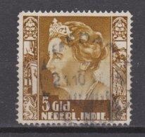 Nederlands Indie 265 Used Watermark ;  Koningin Queen Reine Reina Wilhelmina 1938 NETHERLANDS INDIES PER PIECE - Nederlands-Indië