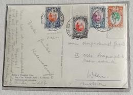 Cartolina Illustrata Per Vienna Il Palazzo Governativo - Giugno 1936 - Saint-Marin