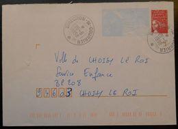 002 PAP Luquet  Oblitération Manuelle Direction Du Courrier  26 6 1998 - Postwaardestukken