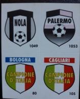 Figurina Micro Calcio Vallardi 90-91 Nola Palermo Bologna Cagliari - Altri