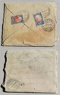 Busta Di Lettera Per Mezzano - 06/01/1930 - Saint-Marin