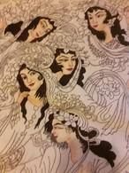 Persia - Iran - Tappeto Persiano Tabriz 60 Raj  Figurato - Lana Kurk,  Extra Fine , Raro Esemplare - Tapis & Tapisserie