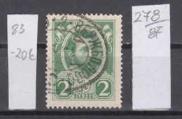 87K278 / 1913 - Michel Nr. 83 - 2 K. , Alexander II  - Emperor Of Russia , Used ( O ) Russia Russie - 1857-1916 Imperio