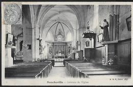 CPA 28 - Sancheville, Intérieur De L'Eglise - Sonstige Gemeinden