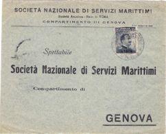 1913 ENNA/PIROSCAFO POSTALE ITALIANO C2 (..13) Su Frontesp Affr Libia C.15 - Libya