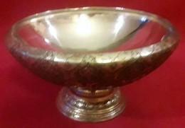 Periodo Della Dinastia Qajar Persia 1800-900 Piatto Frutta O Dolce In Argento,incisioni Interamente A Mano - Argenteria