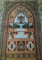 Persia - Iran - Tappeto Persiano QUM 100% Pura Seta,un Fantastico Esemplare! 100% Silk - Tapis & Tapisserie