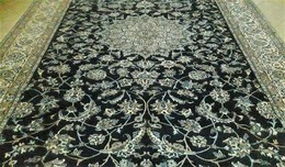 Persia - Iran - Tappeto Persiano NAIN 9 Fili,Lana+Seta,Exra Fine ,Persian Carpet NAIN, Mixed Silk - Tapis & Tapisserie