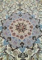 Persia - Iran - Tappeto Persiano ISFAHAN , Firmato ( Saraf Zade) Extra Fine ,Raro , Mixed Silk - Rugs, Carpets & Tapestry