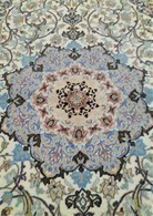 Persia - Iran - Tappeto Persiano ISFAHAN , Firmato ( Saraf Zade) Extra Fine ,Raro , Mixed Silk - Tapis & Tapisserie