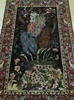 Persia - Iran - Tappeto Persiano ISFAHAN , Extra Fine ,Raro-Una Vera Opera D'arte , Mixed Silk - Tappeti & Tappezzeria