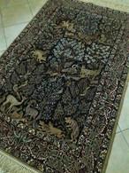 Persia - Iran - Tappeto Persiano ISFAHAN , Extra Fine ,Raro-Una Vera Opera D'arte,Mixed Silk - Tapis & Tapisserie
