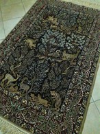 Persia - Iran - Tappeto Persiano ISFAHAN , Extra Fine ,Raro-Una Vera Opera D'arte,Mixed Silk - Tappeti & Tappezzeria