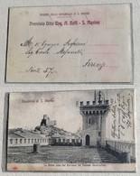 Cartolina Illustrata Vista Dal Terrazzo Del Palazzo Governativo - Saint-Marin