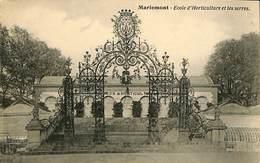 CPA - Belgique - Mariemont - Ecole D'Horticulture Et Les Serres - Morlanwelz