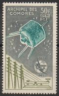 France - Comores - Poste Aérienne N° 14 Neuf ** - Union Internationale Des Télécommunications - Unused Stamps