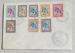 FDC Convegno Filatelico 18/07/1947 - FDC