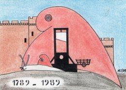 B63969 Cpm Bicentenaire De La Revolution  , Illustrateur Joel Millet - Postcards