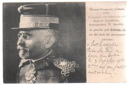 REF 454 : CPA GRECE GREECE Militaria Le Général Grec Danglis - Grèce