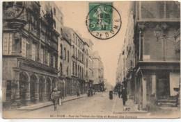 63 RIOM  Rue De L'Hôtel De Ville Et Maison Des Consuls - Riom