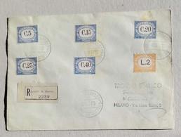 Raccomandata Per Milano - 13/11/1943 Affrancata Con Segnatasse 1939 (RR) - Segnatasse