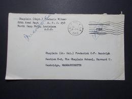 Marcophilie  - USA - Militaire - Camp POLK Louisiane 1943 (2620) - Etats-Unis