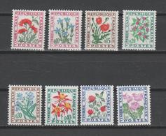 "FRANCE / 1964-1971 / Y&T TAXE N° 95/102 ** : ""Fleurs"" (Série Complète 8 TP) X 1 - Taxes"