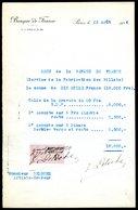 Numismatique - Autographe D'Ernest Pierre DELOCHE (1861-1950) - Graveur De 3 Billets - BDF - ALGERIE - SERBIE - Banconote