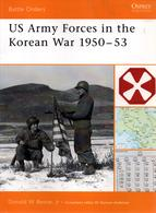 OSPREY  US ARMY IN THE KOREAN WAR 1950 1953  GUERRE DE COREE - English