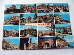 (FG.V22) SOUVENIR DELLE MARCHE - VEDUTE VEDUTINE (viaggiata 1973) - Unclassified