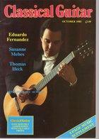 Revue De Guitare - Classical Guitar - N° 2 - 1985 - Eduardo Fernandez - Art