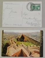 Cartolina Illustrata La Terza Torre - Anno 1933 - Saint-Marin