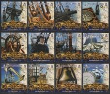 Pitcairn 2007 - Mi-Nr. 731-742 ** - MNH - Schiffe / Ships - Bounty - Pitcairninsel