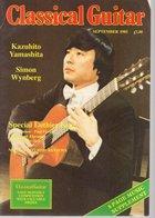 Revue De Guitare - Classical Guitar - N° 1 - 1985 - Kazuhito Yamashita - Art