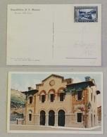 Cartolina Illustrata Stazione Della Città - Anno 1932 - Saint-Marin