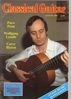 Revue De Guitare - Classical Guitar - N° 12 - 1985 - Paco Pena - Art