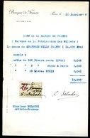 Numismatique - Autographe D'Ernest Pierre DELOCHE (1861-1950) - Graveur De 3 Billets - SERBIE - SERBIE - SYRIE - Banconote