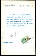 Numismatique - Autographe D'Ernest Pierre DELOCHE (1861-1950) - Graveur D'un Billet BDF - Type BAUDRY - Banconote