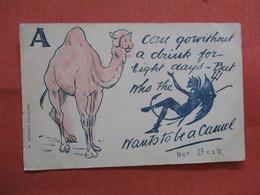 Camel & Devil -----------   Ref 3837 - Humour